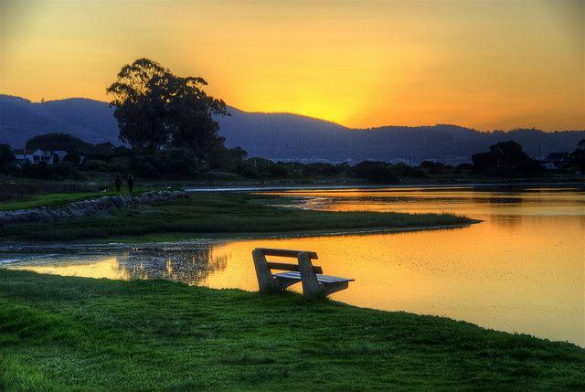 Knysna Estuary by slack12 on Flickr.  Sunset on Leisure Isle, Knysna, South Africa.