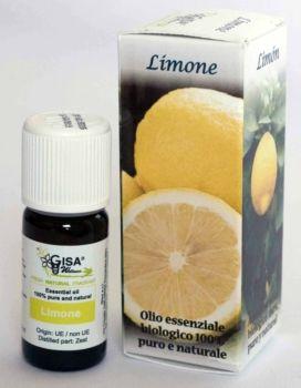 Limone Bio - Olio essenziale 100% puro e naturale biologico  L'olio essenziale di limone rende vigili e attivi, stimola l'attenzione. Evita gli errori di distrazione, potenzia le capacità di rendimento, aumenta la concentrazione.