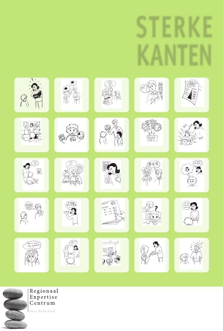 Autisme Poster Sterke Kanten Leerkrachten