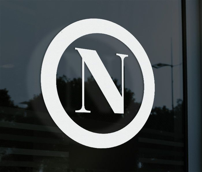 SSC Napoli Italy Calcio Decal Sticker