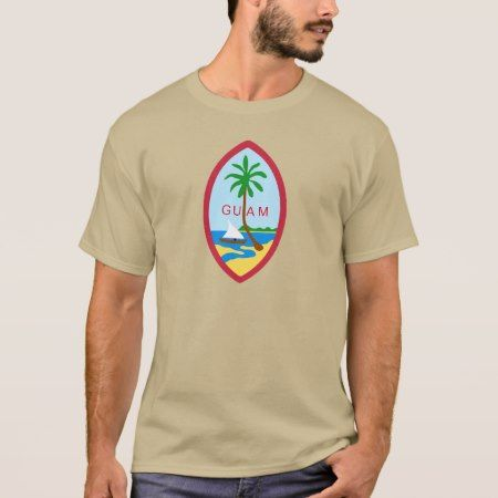 GUAM - emblem/flag/coat of arms/symbol T-Shirt - click/tap to personalize and buy