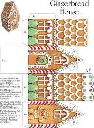 Картинки по запросу felt gingerbread house pattern