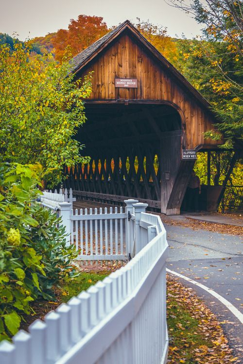 Woodstock, VT by North Sky Photography
