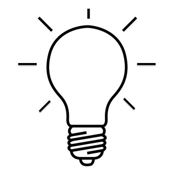 Resultado de imagem para lampada desenho vetor