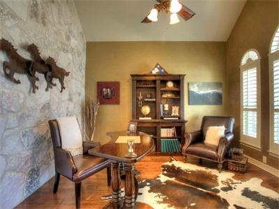 Interior Rock Wall    Meticulously Maintained Masterpiece 538 Canyon Rise  San Antonio, TX 78258