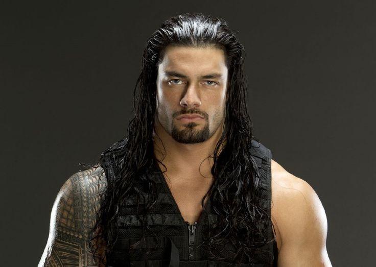 "WWE Superstar Roman Reigns - Leati Joseph ""Joe"" Anoa'i is a Samoan-American professional wrestler"