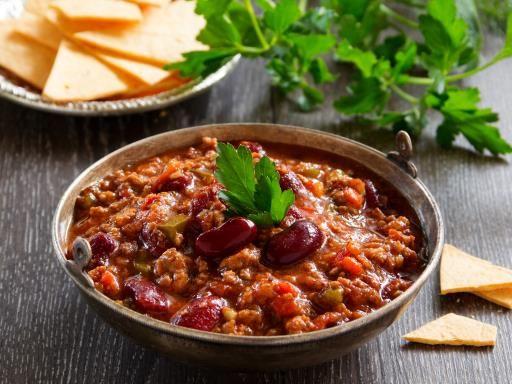 Recette de Chili con carne express