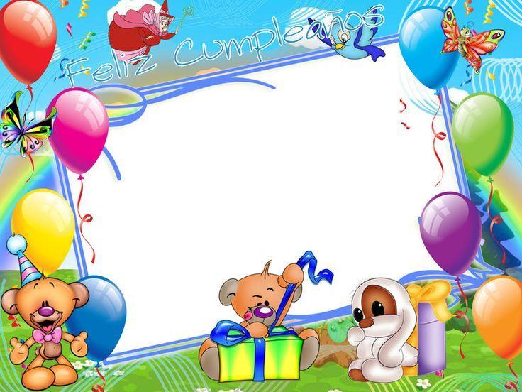 Рамка для поздравления с днем рождения девочке, картинки
