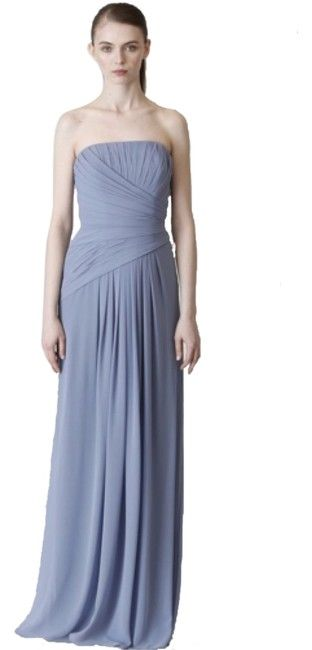 Monique Lhuillier French Blue 450236 Long Formal Dress Size 10 (M). Free shipping and guaranteed authenticity on Monique Lhuillier French Blue 450236 Long Formal Dress Size 10 (M)Monique Lhuillier french blue chiffon...