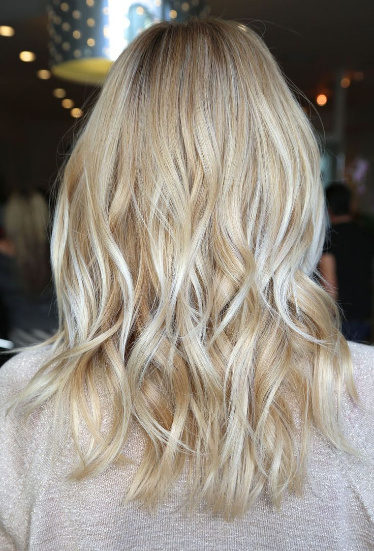 perfect dimensional beige blonde @Alexandrea Huddleston Huddleston Huddleston this would be an awesome color for you