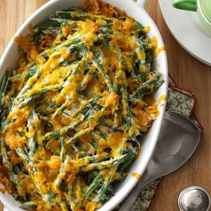 Creamed Green Beans Recipe