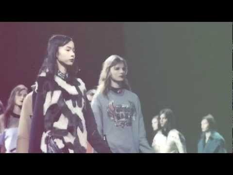 NARS backstage at NYFW