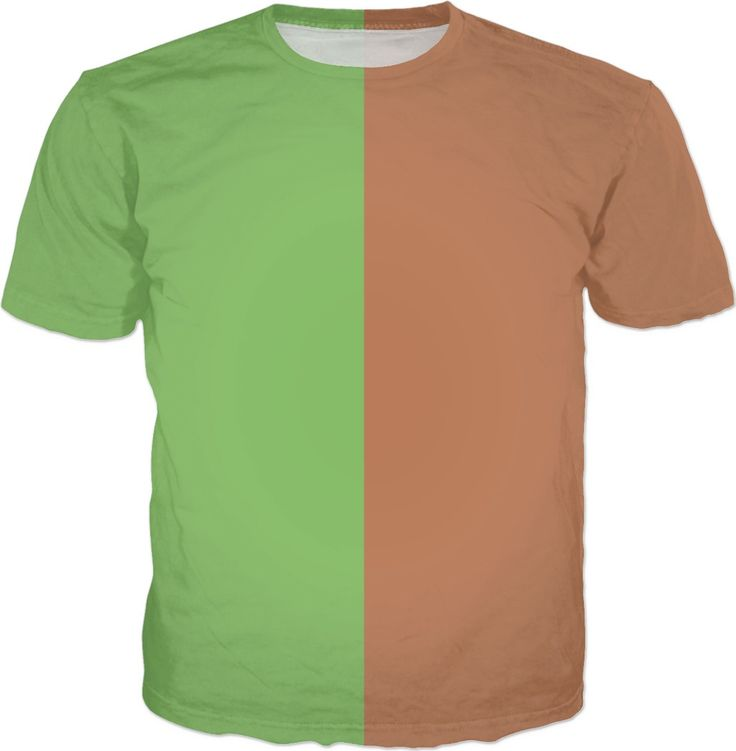 Two Color T-Shirt/Dollar Bill-Brown