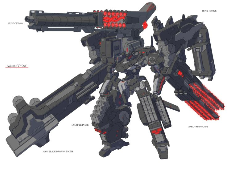 "deploymechs-blog: "" Armored Core designs by 8号 ""                                                                                                                                                                                 More"