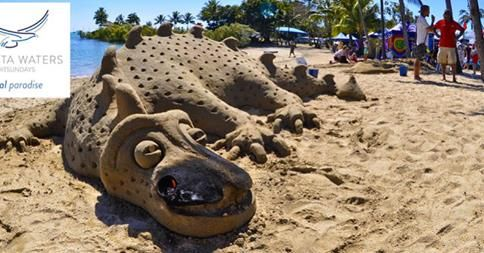 How cool is this! Come have a look at the sand sculpting at the Whitsunday Reef Festival, it starts August 1.Camp Kitchen, BBQ, Pool BBQ area, swimming pool, slide, spa, tennis court, playground, bird feeding, local tours, cart and electric push bike hire, mini market, jumping pillow, giant chess, basketball, volley ball, TV, video room, wireless access. #sandsculpting #airliebeach #whitsundayreeffestival