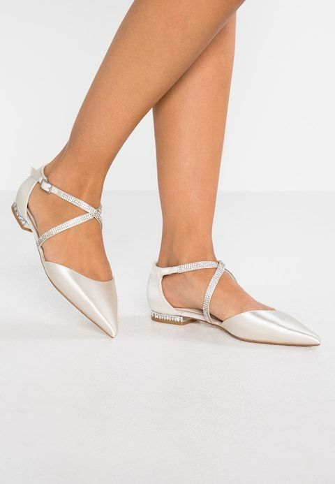 f9e598e57a Dune London CARING - Ankle strap ballet pumps - ivory - Zalando.co.uk   balletpumpsshoesuk