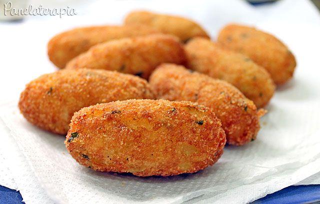 PANELATERAPIA - Blog de Culinária, Gastronomia e Receitas: Bolinho de Bacalhau