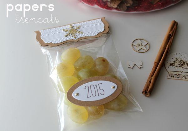 Happy New Year bags by Papers Trencats