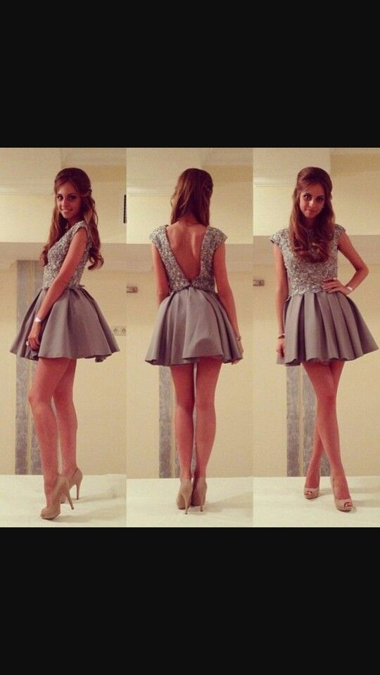 Grey is the color for a Tumblr dress