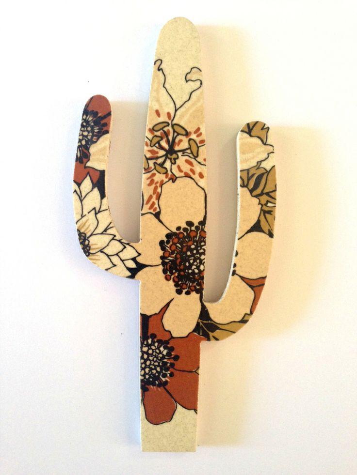Johnson Brothers stoneware - cactus wall hanging