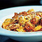 Pappardelle met gerookte forel en tomaten van Gordon Ramsay - recept - okoko recepten