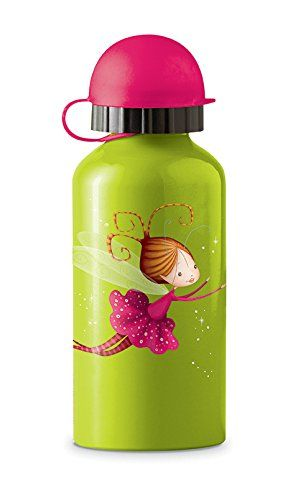 Crocodile Creek Girls Eco Fairy Stainless Steel Drinking Water Bottle, Green, 7' -- You can get additional details at the image link.
