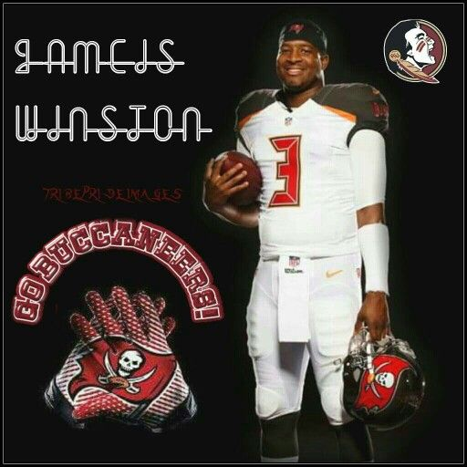 Jameis in his TB gear. Went as the first pick in the first round of the 2015 NFL draft.