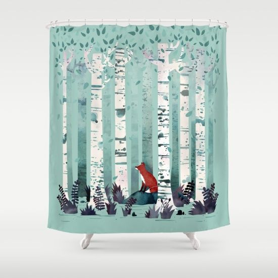 1000 Ideas About Tree Shower Curtains On Pinterest