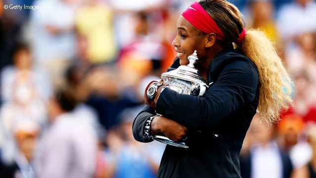 2014 US Open: Serena tied Chris Evert and Martina Navratilova with a whopping 18 Grand Slam titles.