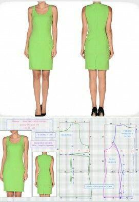 Plain hanger fabric dress