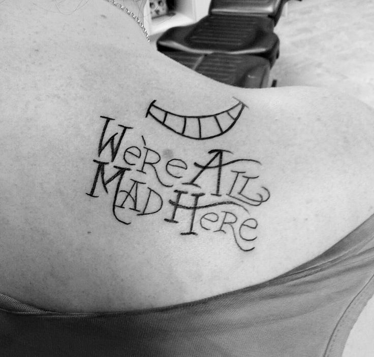 68 best images about we 39 re all mad here on pinterest cheshire cat tattoo temporary tattoos. Black Bedroom Furniture Sets. Home Design Ideas