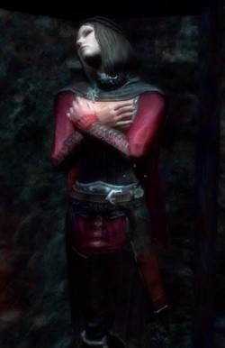 Serana from the Skyrim DLC Dawnguard.