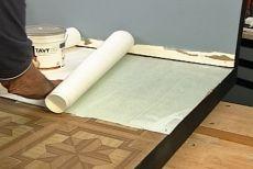 How to Install Ceramic Tile Over Vinyl Flooring • Ron Hazelton Online • DIY Ideas & Projects