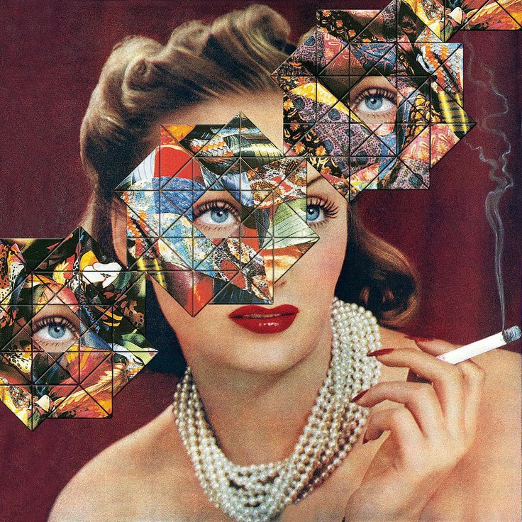 Cultural Bias ~ collage by Eugenia Loli