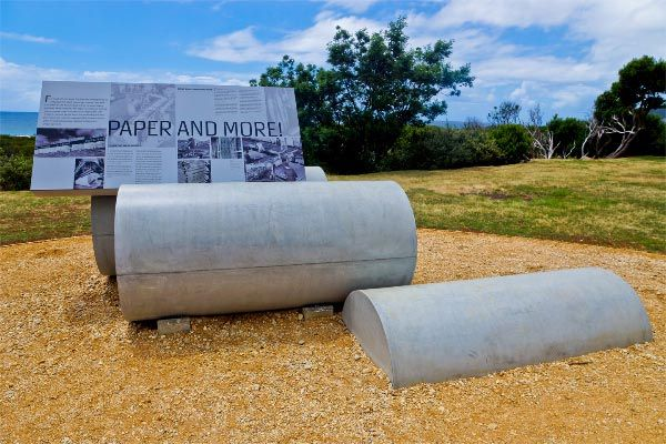 The Pulp Paper Trail. Article and photo by Carol Haberle for www.think-tasmania.com