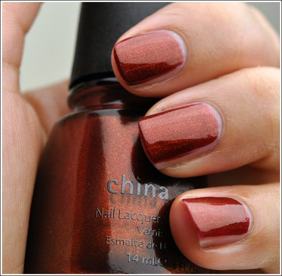 Nail Polish Colors Bronze: Brown & Bronze On Pinterest