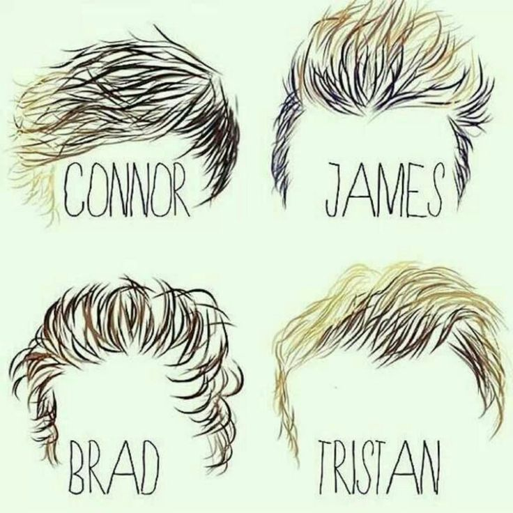 The haircuts owned by my faves xx