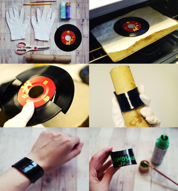 SOMETHiNG MONUMENTAL: DIY Vinyl Record Jewelry