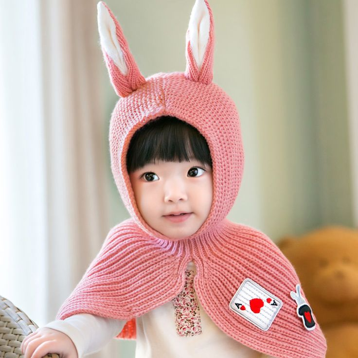 >> Click to Buy << Cute Toddler Crochet Beanie Baby Girls Boys Kids Bunny Rabbit Ears Wool Scarf Tippet Wraps Princess Knitted Winter Hat Hood Cape #Affiliate