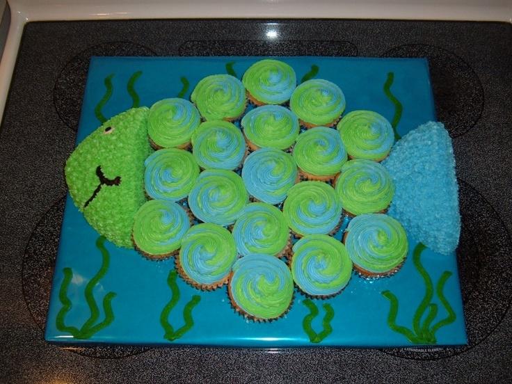 Best 25 Fish cupcakes ideas on Pinterest Fishing cupcakes Fish