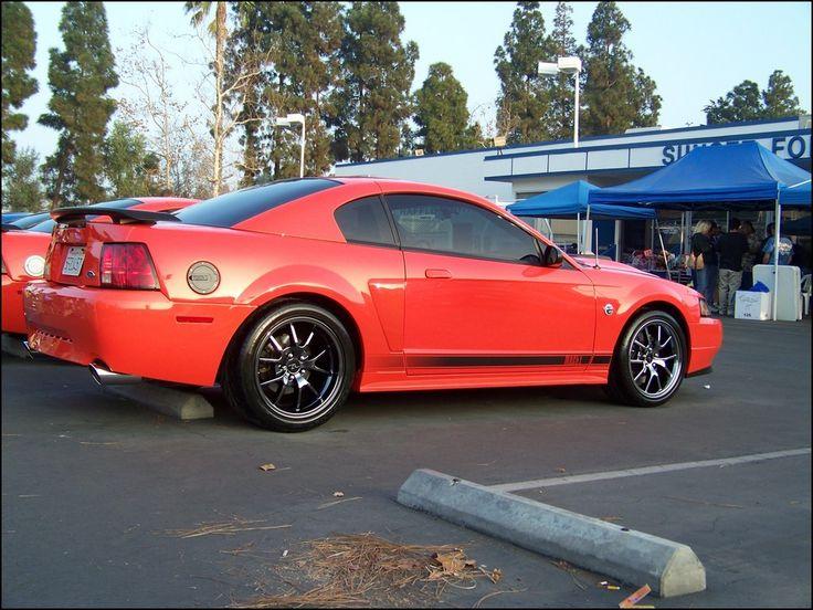 Black Chrome Wheels Mustang