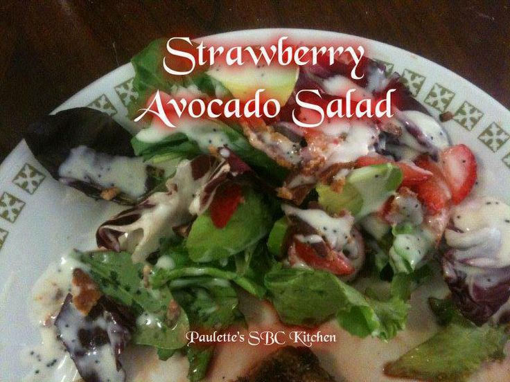 Spinach Salad Ingredients: Servings: 4 6 cups Lettuce, i like spinach ...