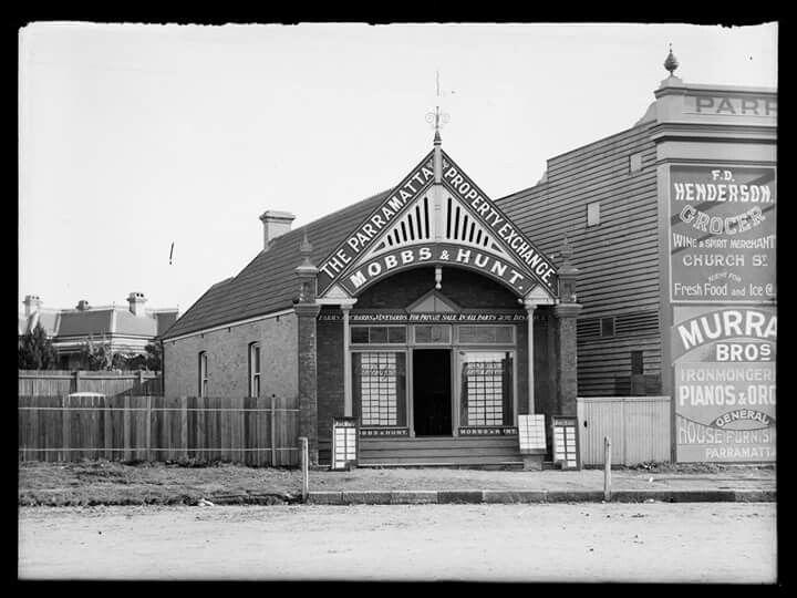 Parramatta in 1900.