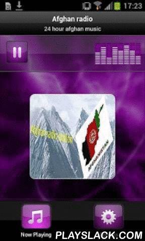 Afghan Radio  Android App - playslack.com , 24 hour afghan music