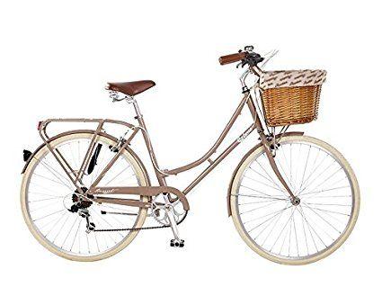 26pulgadas galano City Cilindro de color marrón oscuro o marrón claro Mujer Cilindro de 7velocidades niña-Rueda Bicicleta holandesa City-Bicicleta para mujer, color marrón claro, tamaño 19 pulgadas, tamaño de cuadro 19.00 inches, tamaño de rueda 26.00 inches