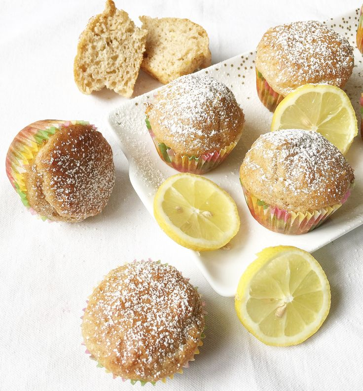 Muffin al Limone Senza Burro
