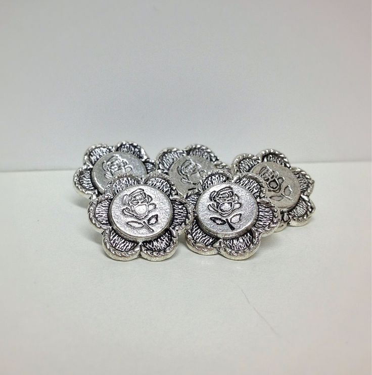 Antique Style Rose Buttons £0.99 each or 5 for £3.99 #onselz