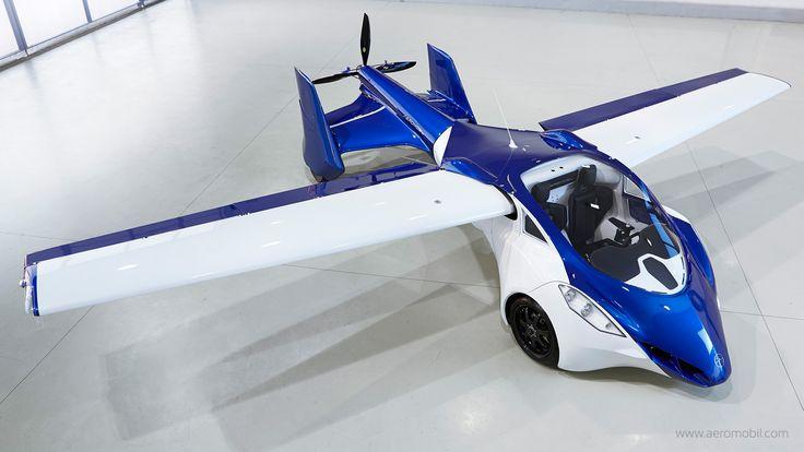 AeroMobil 3.0 – Premier test en condition réelle pour la voiture volante.