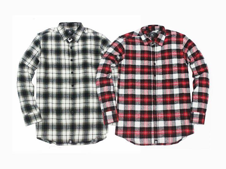 RSA Plaid Flannel Shirt @rsaallday www.rsaallday.com