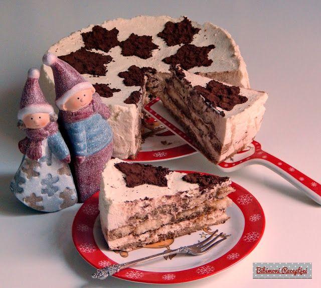 Karácsonyi tiramisu torta